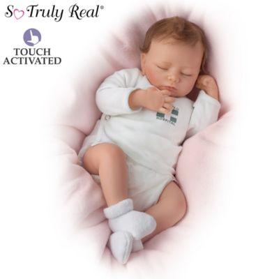 Ashley Breathing Lifelike Baby Doll So Truly Real