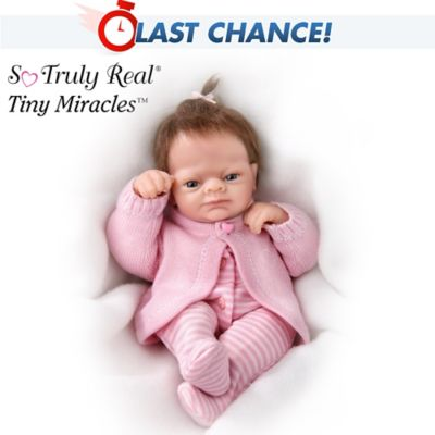 Tiny Miracles And Angels Danced Emmy Realistic Baby Doll