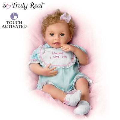 Katie Kisses Touch Activated Interactive Baby Doll Talks