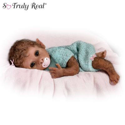Clementine So Truly Real Lifelike Baby Monkey Doll By