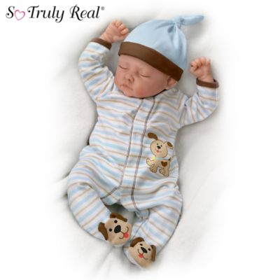 Sweet Dreams Danny Weighted Lifelike Baby Boy Doll