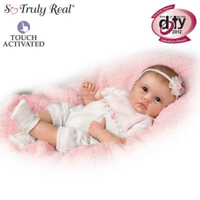 Sweet Touches Lifelike Baby Girl Doll Collection