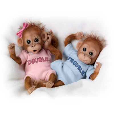 Monkey Dolls Twice The Fun Monkey Doll Collection