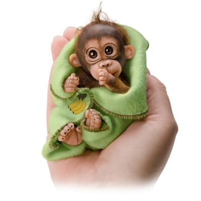 Cuddly Cuties Miniature Baby Monkey Doll Collection