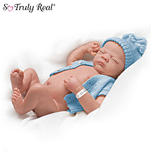 "Linda Webb's ""Charlie"" Lifelike Baby Doll"