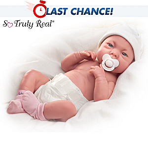 "Lifelike Baby Girl ""Early Arrivals"" Doll"
