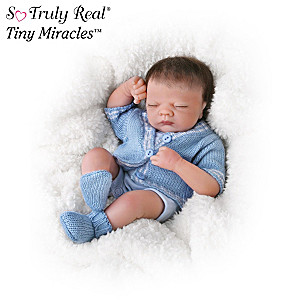 "Tiny Miracles ""Little Charlie"" Sleepy Doll"