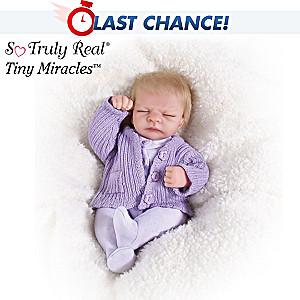 Tiny Miracles Miniature Lifelike Vinyl Emma Doll