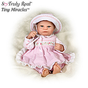 """Harriet"" So Truly Real Tiny Miracles Baby Doll"