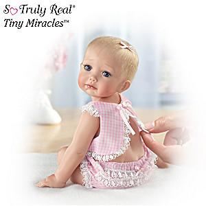 """""""Hailey Needs A Hug"""" Fully Sculpted Baby Doll"""