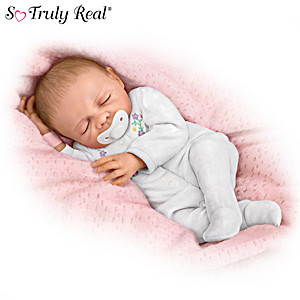 "Name Your ""Cherish"" Lifelike Baby Doll"