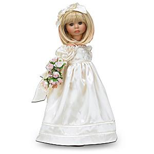 Linda Rick Realistic Vinyl Child Doll In Gorgeous Costuming
