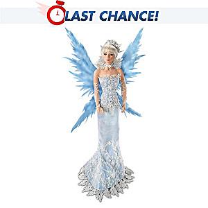 Cindy McClure Ice Fairy Porcelain Fantasy Doll