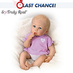 Linda Murray Lifelike Baby Girl Doll: Little Love