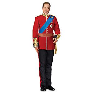 Prince William Royal Wedding Commemorative Porcelain Doll