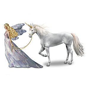 Fairy And Unicorn Doll Inspired By Mimi Jobe Artwork