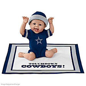 "Sherry Rawn ""Touchdown Dallas Cowboys"" Baby Doll"
