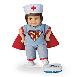 I'm a Nurse. What's Your Super Power? Child Doll