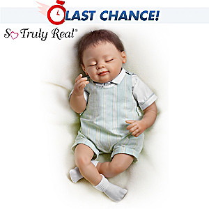 "Linda Murray ""When They Placed You In My Arms"" Baby Boy Doll"