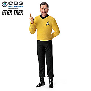 STAR TREK Captain Kirk Figure Talks And Plays Music