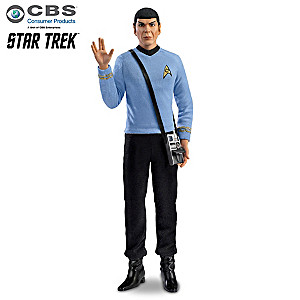 """Mr. Spock"" Commemorative Talking Poseable Figure"
