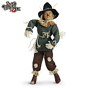 The Wizard Of Oz Scarecrow Singing Collector Doll