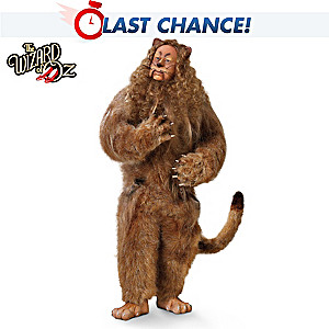 The Wizard Of Oz Cowardly Lion Singing Collector Doll