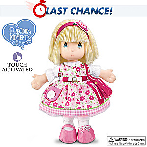 Precious Moments Interactive Teaching Doll