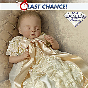 Prince George Of Cambridge Commemorative Porcelain Baby Doll