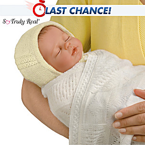 """Princess Charlotte's Royal Homecoming"" Lifelike Baby Doll"