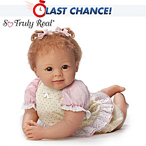 "Linda Murray ""Cherished Chelsea"" Lifelike Poseable Doll"