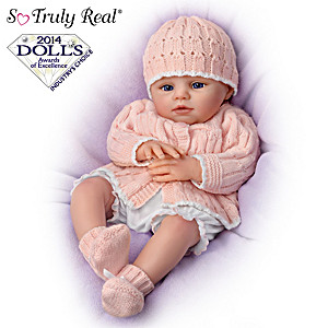 "So Truly Real Poseable ""Abby Rose"" Doll By Marissa May"