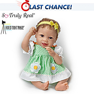 "Linda Murray ""Put On A Happy Face"" Poseable Baby Doll"