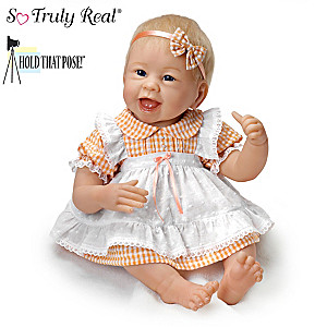 "Linda Murray ""Little Light Of Mine"" Poseable Baby Doll"