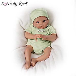 "Tasha Edenholm ""Silly Goose"" Lifelike Poseable Baby Doll"
