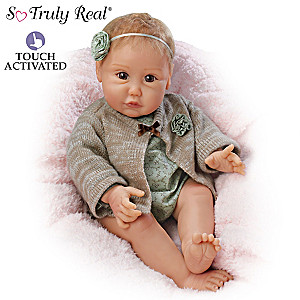 "Sherry Miller ""Nuzzle Coo"" Interactive Cooing Baby Doll"
