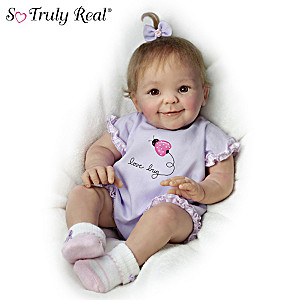 "Cheryl Hill ""Little Love Bug"" Poseable Baby Doll"