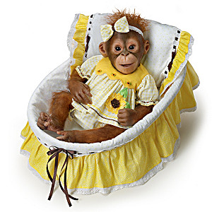 Emily Jameson Realistic Monkey Doll With Musical Pillow