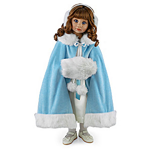 """Victoria"": Angela Sutter Winter-Inspired Poseable Doll"