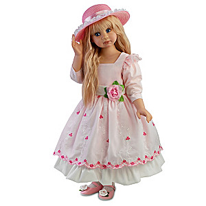 "Angela Sutter ""Blossom"" Child Doll Inspired By Spring"