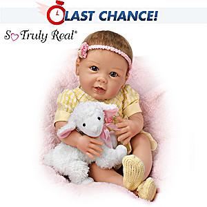 "Linda Murray ""Littlest Lamb"" Lifelike Poseable Baby Doll"