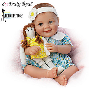 "Cheryl Hill ""My Dolly, My Best Friend"" Poseable Baby Doll"