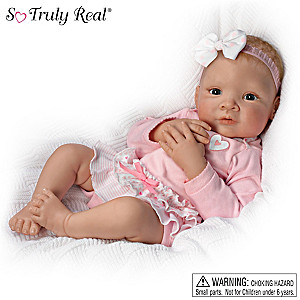 "Waltraud Hanl ""Granddaughter, I Love You Head To Toe"" Doll"