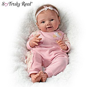 Sherry Rawn Star Light, Star Bright Weighted Baby Girl Doll