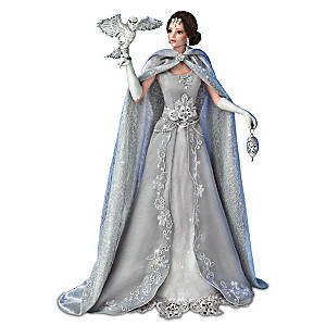 "Cindy McClure ""Snow Queen"" Fantasy Doll With Owl"