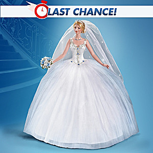 """Happily Ever After"" 30th Anniversary Porcelain Bride Doll"