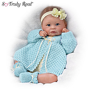 "Linda Murray ""Sweetly Snuggled Sarah"" Poseable Baby Doll"
