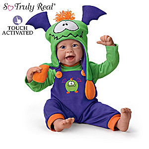 """Linda Murray """"Little Monster"""" Interactive Baby Doll Giggles"""