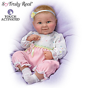 "Cheryl Hill ""Sweet Cheeks"" Touch-Activated Baby Doll"
