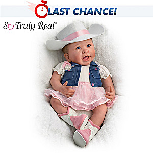 "Linda Murray ""Chesney"" Country Style Poseable Baby Doll"